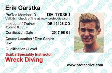 ProTec Wreck Diving