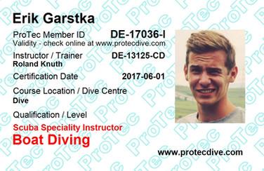 ProTec Boat Diving