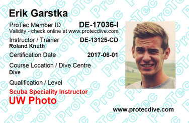 ProTec UW Photo