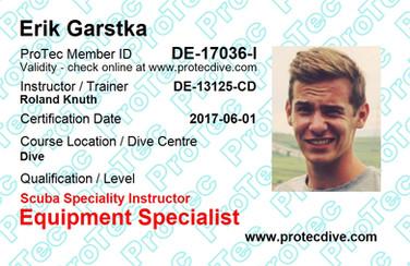 ProTec Equipment Specialist