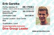 ProTec Dive Group Leader