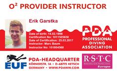 PDA O2 Provider Instructor