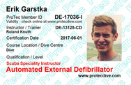 ProTec Automated External Defibrillator