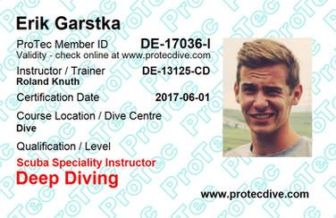 ProTec Deep Diving