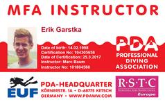 PDA MFA Instructor