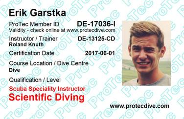ProTec Scientific Diving