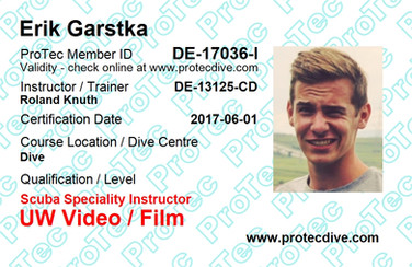 ProTec UW Video & Film