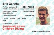 ProTec Children Diving