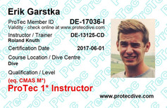 ProTec 1* Instructor