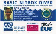 PDA Basic Nitrox Diver