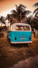 Curacao Beach Van