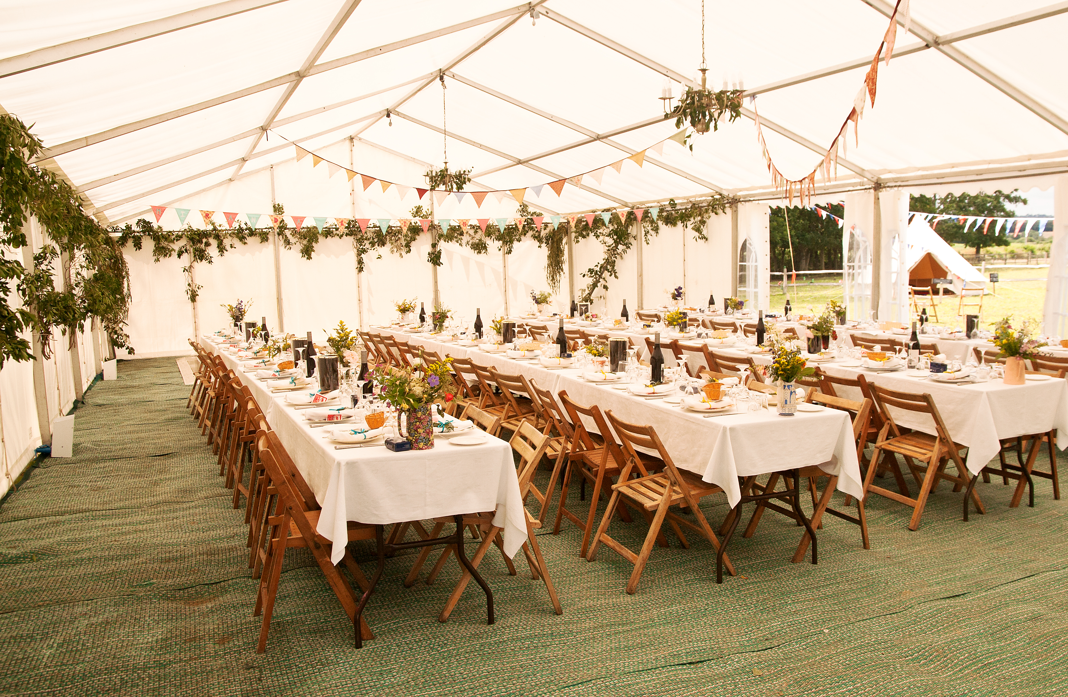 Decorated Marquee