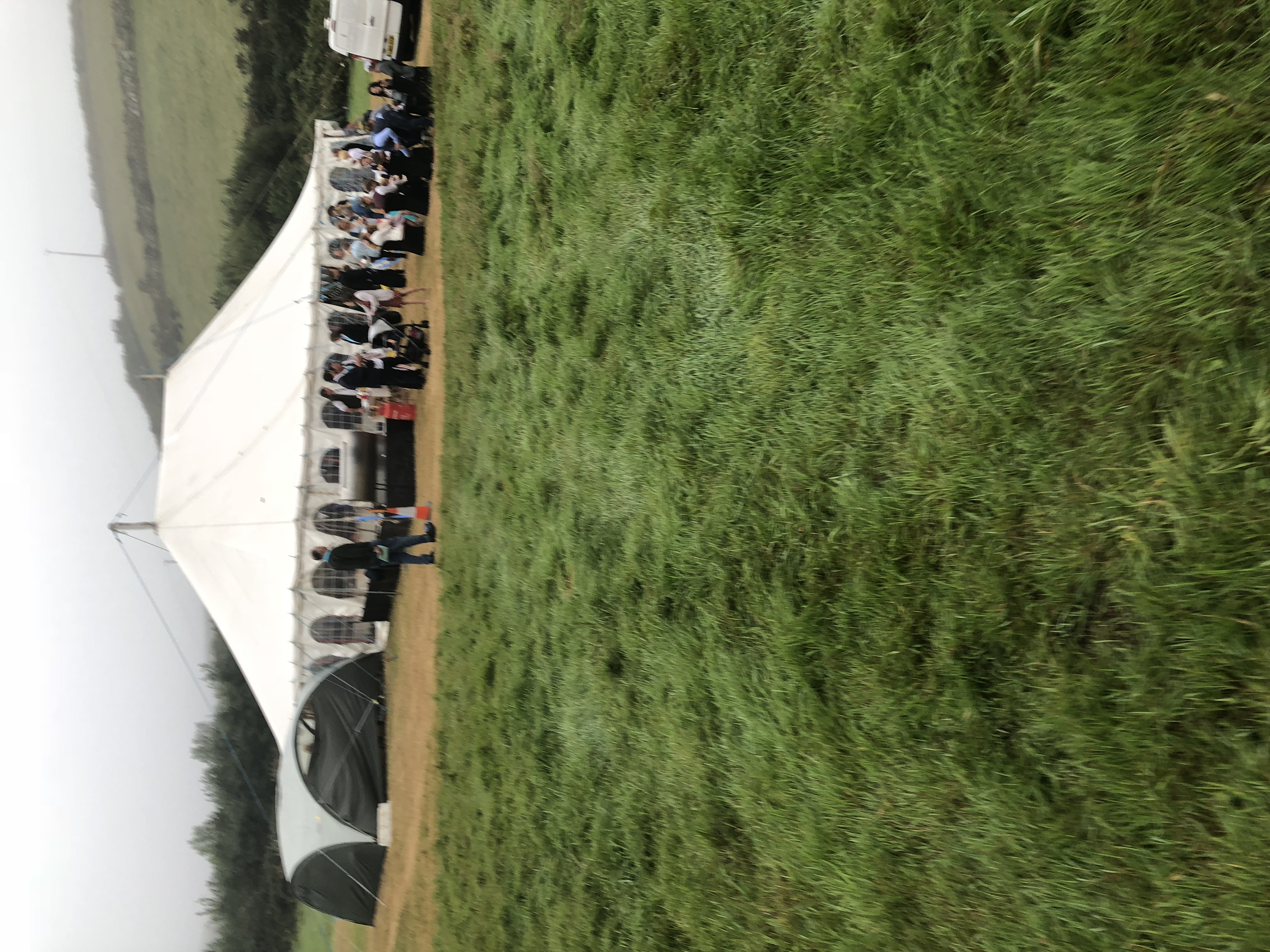 Marquee Wedding Cornwall Cornish