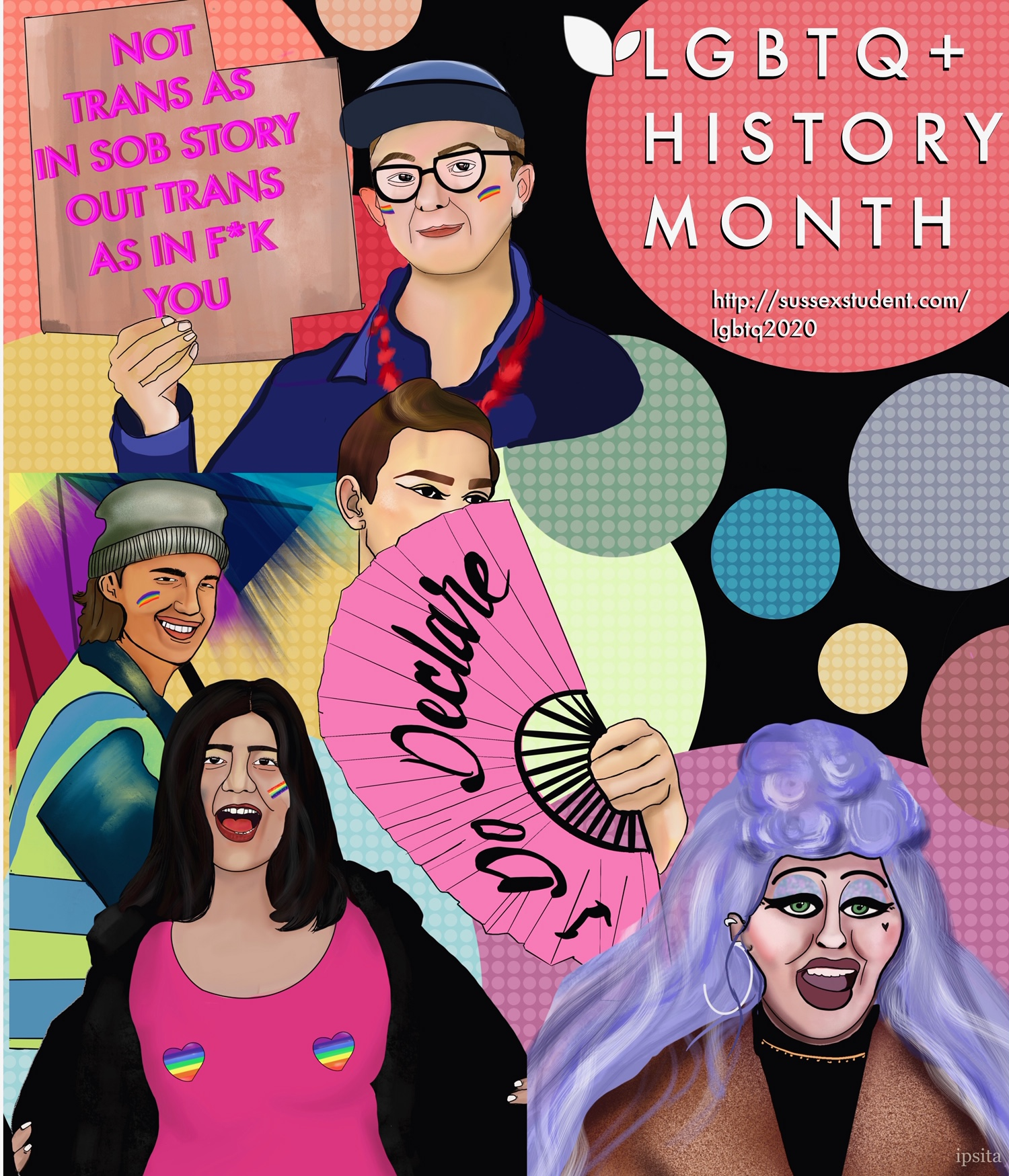 University of Sussex LGBTQ History Month