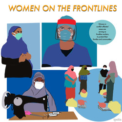 Women on the frontline in COVID-19