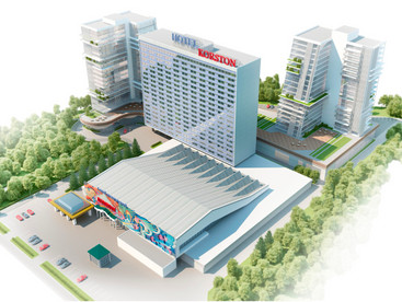 Проект расширения гостинично-развлекательного комплекса