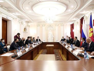 """""""ДЕКАТЛОН"""" г.Сочи. Встреча с губернатором Краснодарского края."""