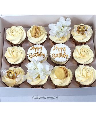 Cupcakes - Box of 12