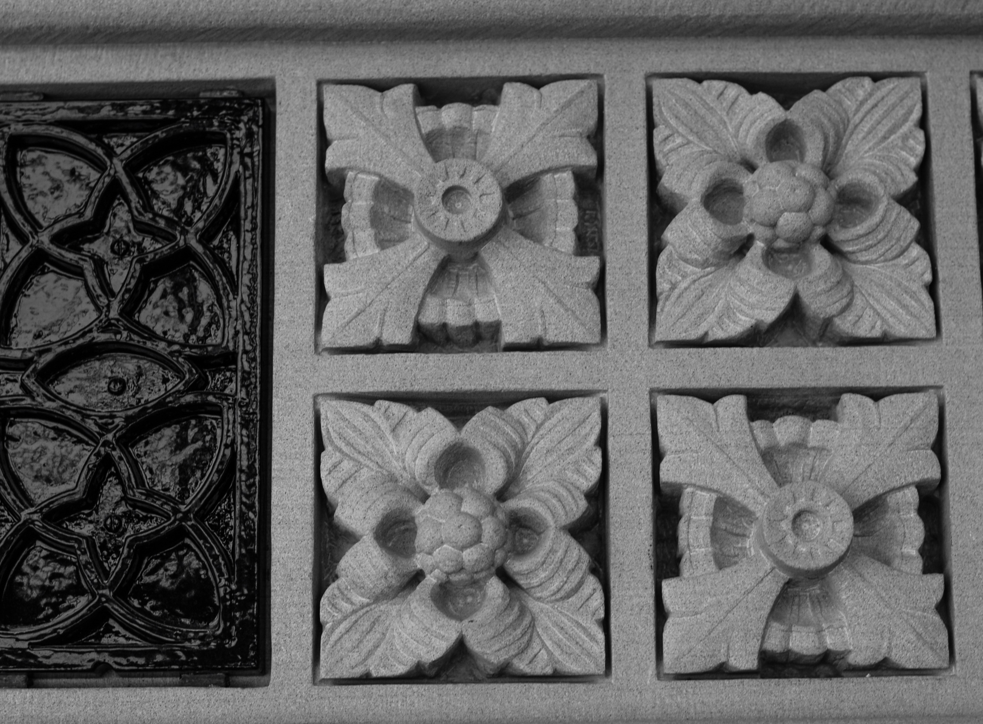 Carved Panel West Block