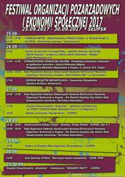 Festiwal Organizacji Pozarządowych i Ekonomii Społecznej 2017