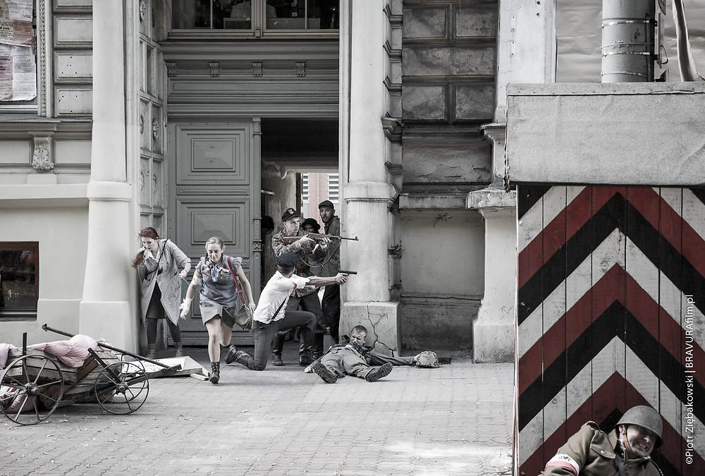 Rekonstrukcja Wybuchu Powstania Warszawskiego