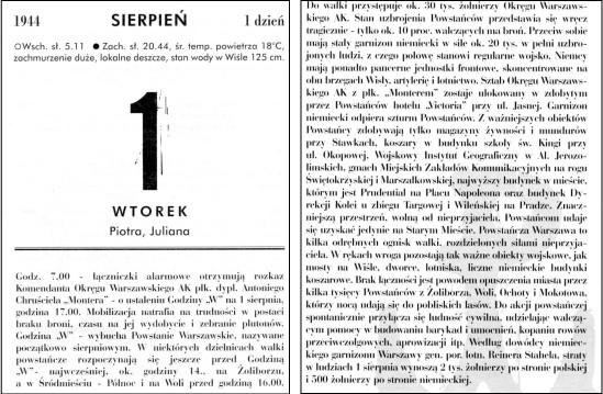 1 sierpnia - kartka z kalendarza