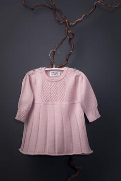 Saga babydress pink