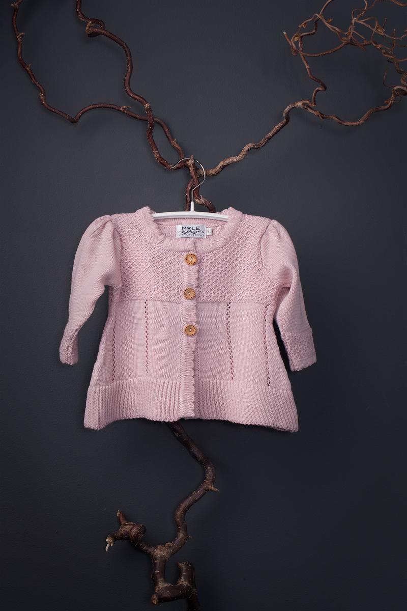 Annie babycardigan pink