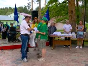 10 фестиваль Скандинавской Ходьбы в г.Пенза