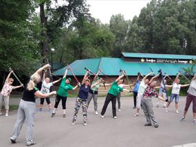 Открытые тренировки в парках города