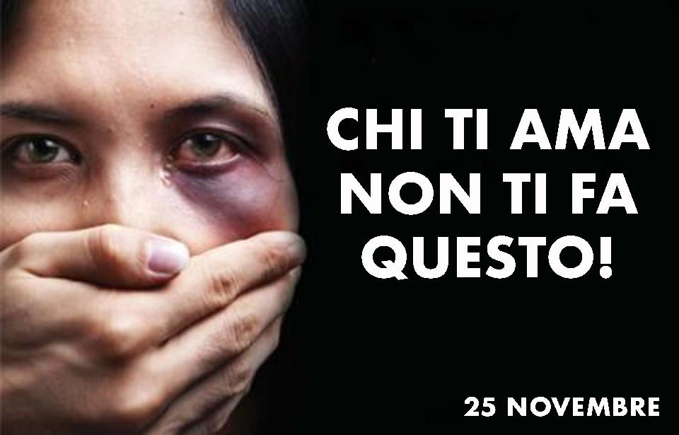 25 novembre contro la violenza delle donne