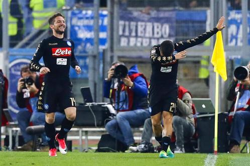 Calcio spettacolo del Napoli