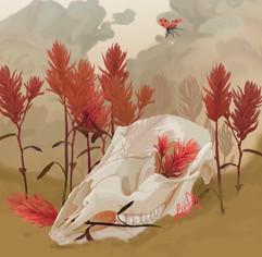 Skull and Paintbrushes.jpeg