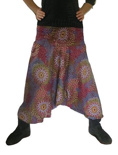 vetement hippie bordeaux