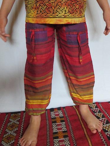 pantalon ethnique enfant