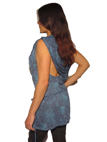 robe teufeur bleue