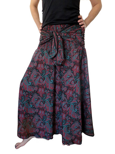 jupe ethnique noire