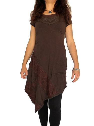 Robe Shara Marron