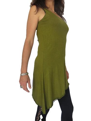 tunique femme ethnique vert