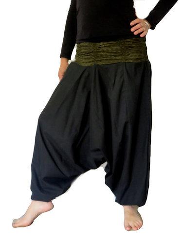 Sarouel Roopa Noir Kaki