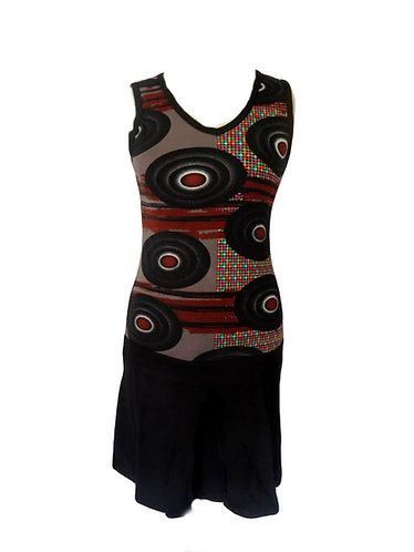 robe hippie noire