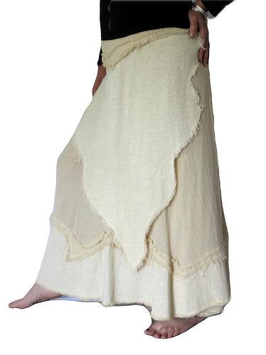 jupe femme blanc