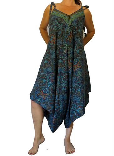 harem jumpsuit bleue