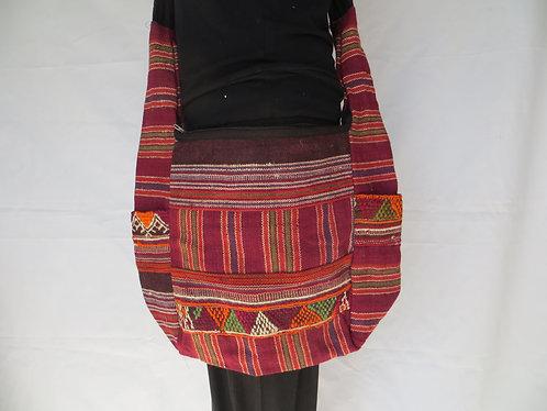 Sac ethnique laine chameau