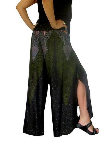 pantalon hippie noire