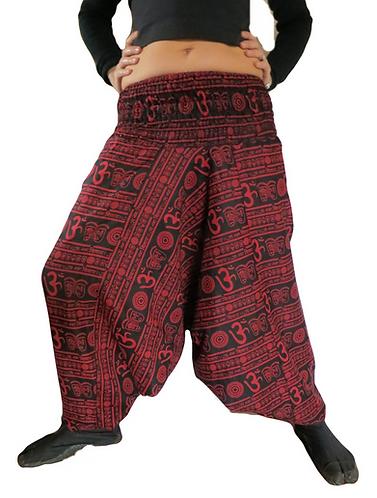 sarouel homme noire rouge