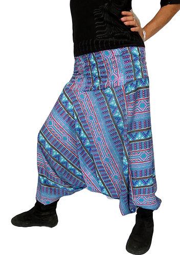 sarouel femme turquoise