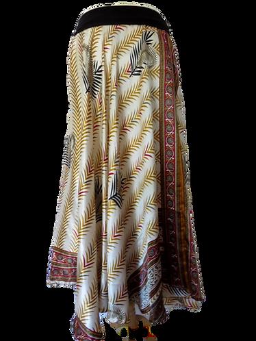 jupe soie blanche