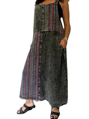 robe hippie stonewash