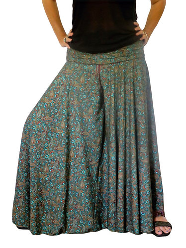 pantalon femme bleue